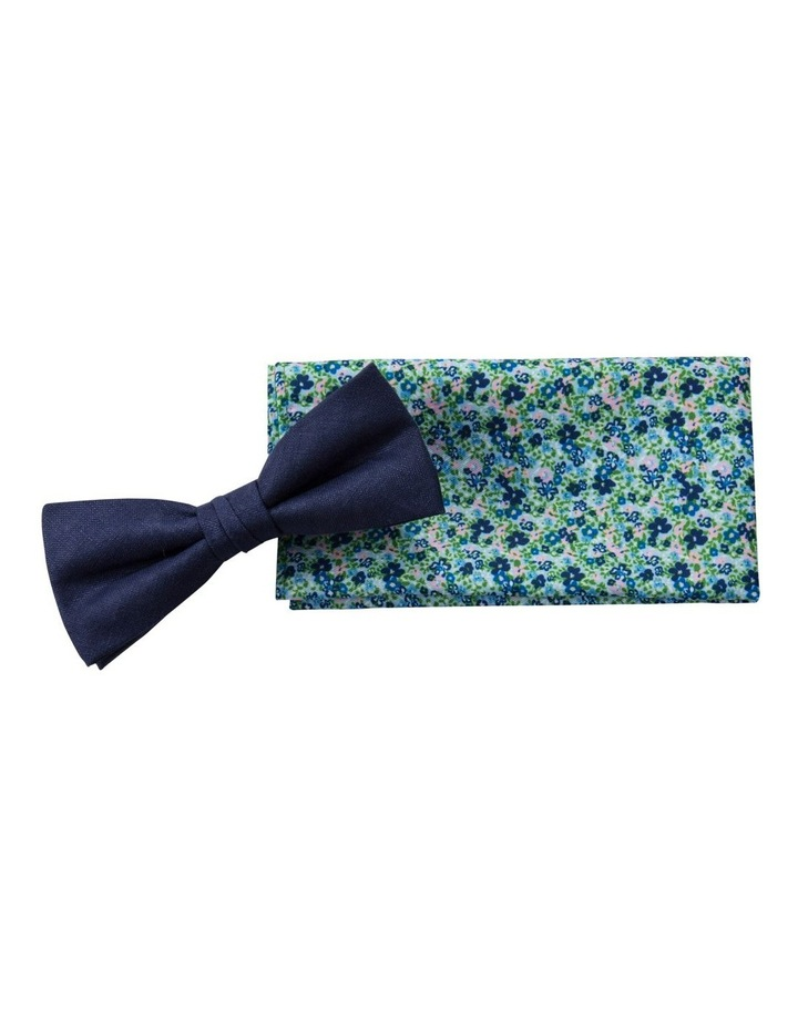 Sustainable Bow Tie And Pocket Square image 1