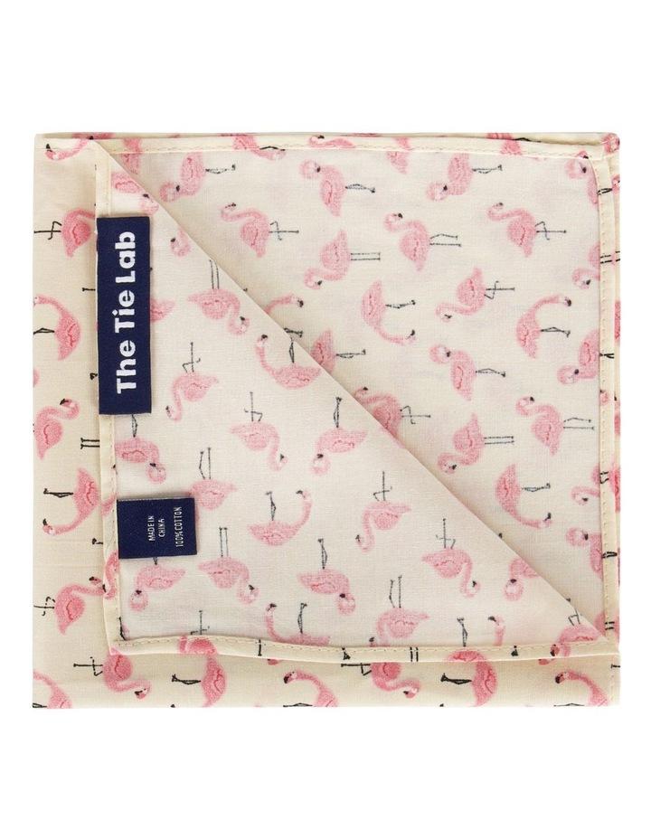 Flamingo Pocket Square image 1