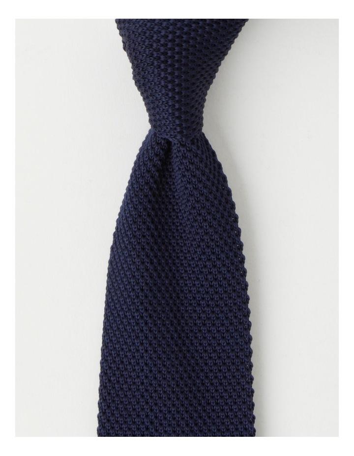 Textured Navy Bow Tie image 1