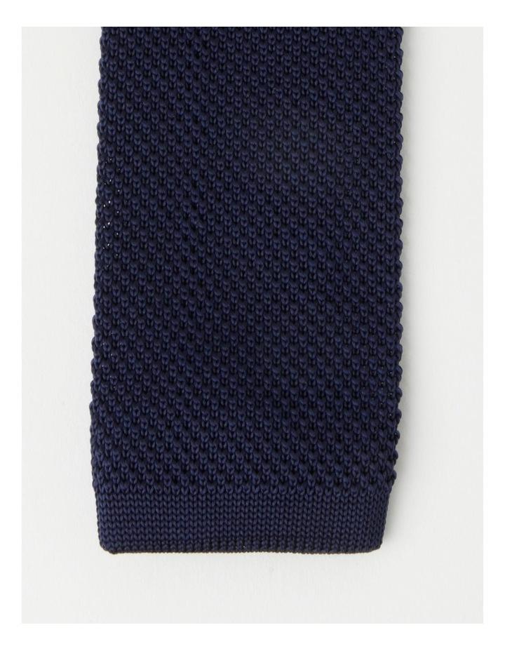 Textured Navy Bow Tie image 2