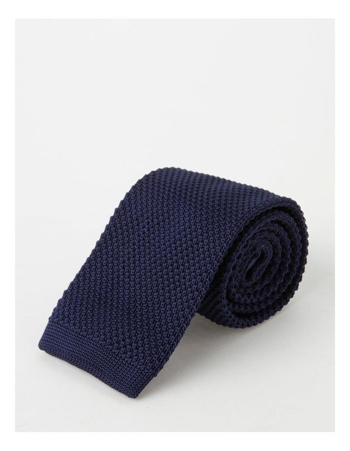 Textured Navy Bow Tie image 4