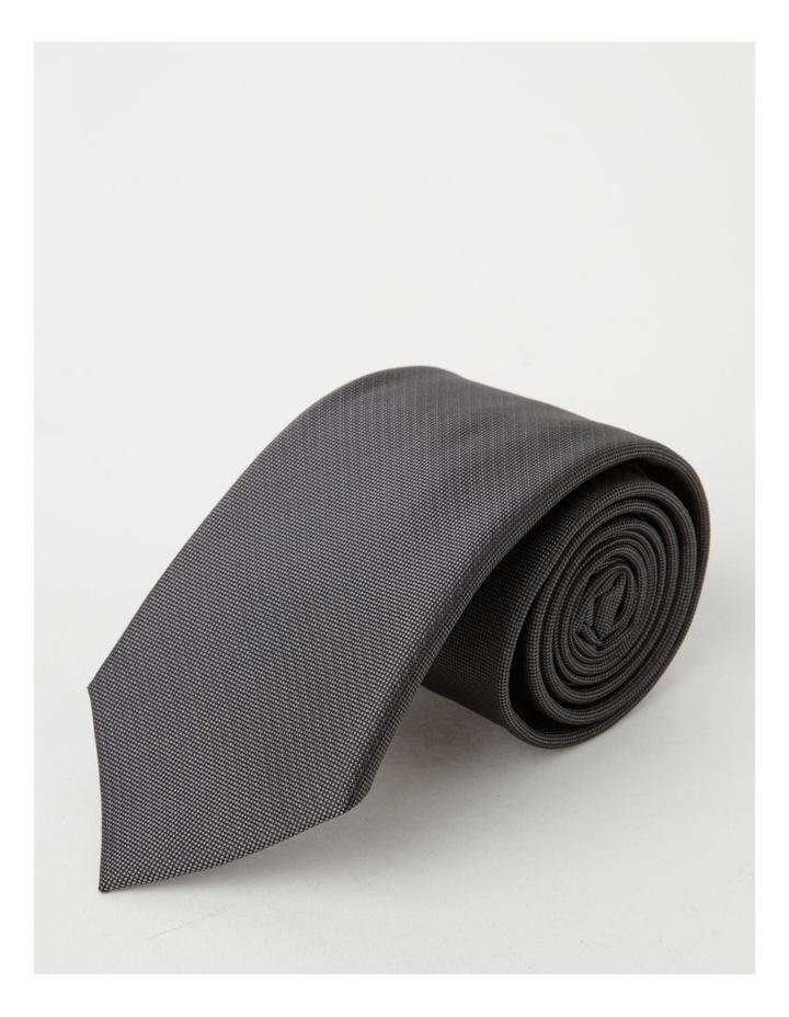 Plain Charcoal Tie image 4