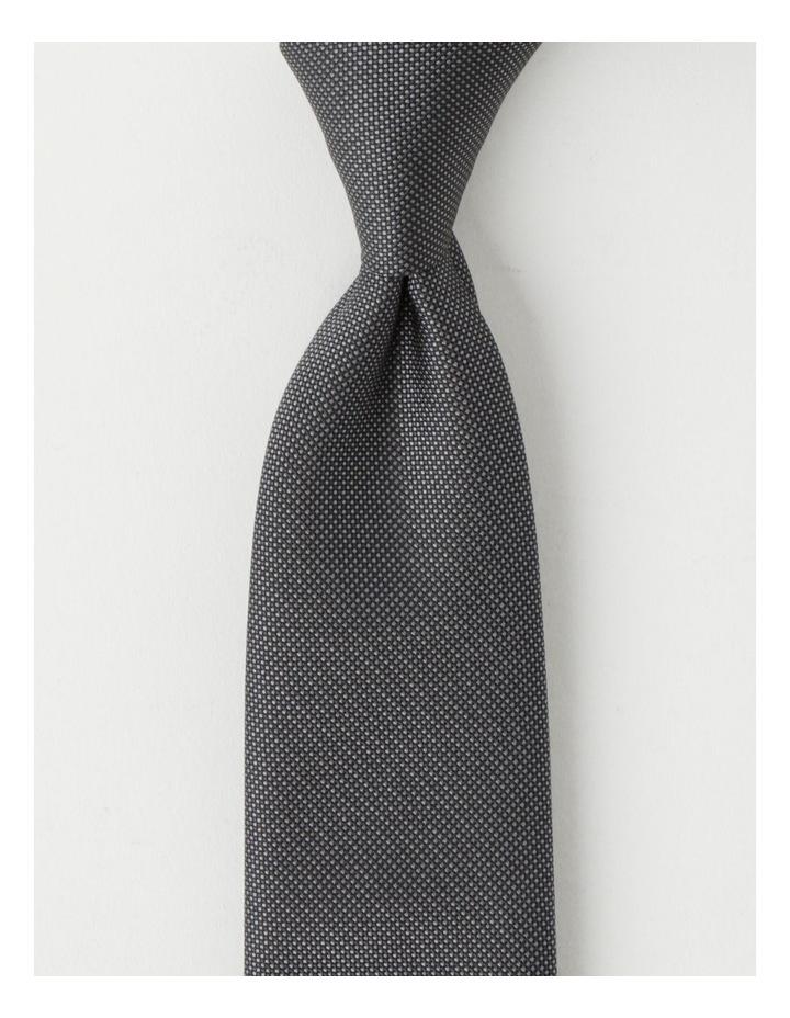 Plain Grey Tie image 1