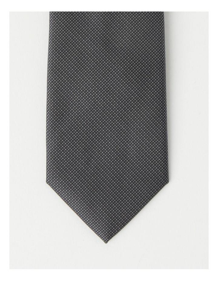 Plain Grey Tie image 2