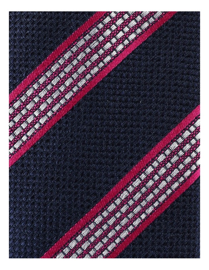 Stripe Silk Face Tie image 2