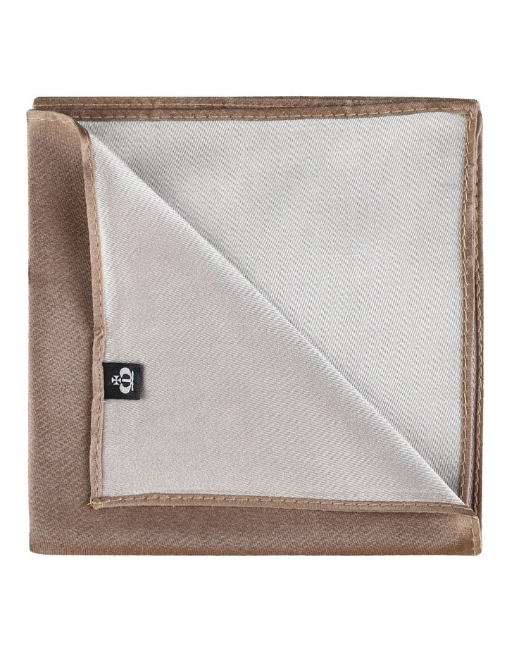 Plain Silk Pocket Square image 2