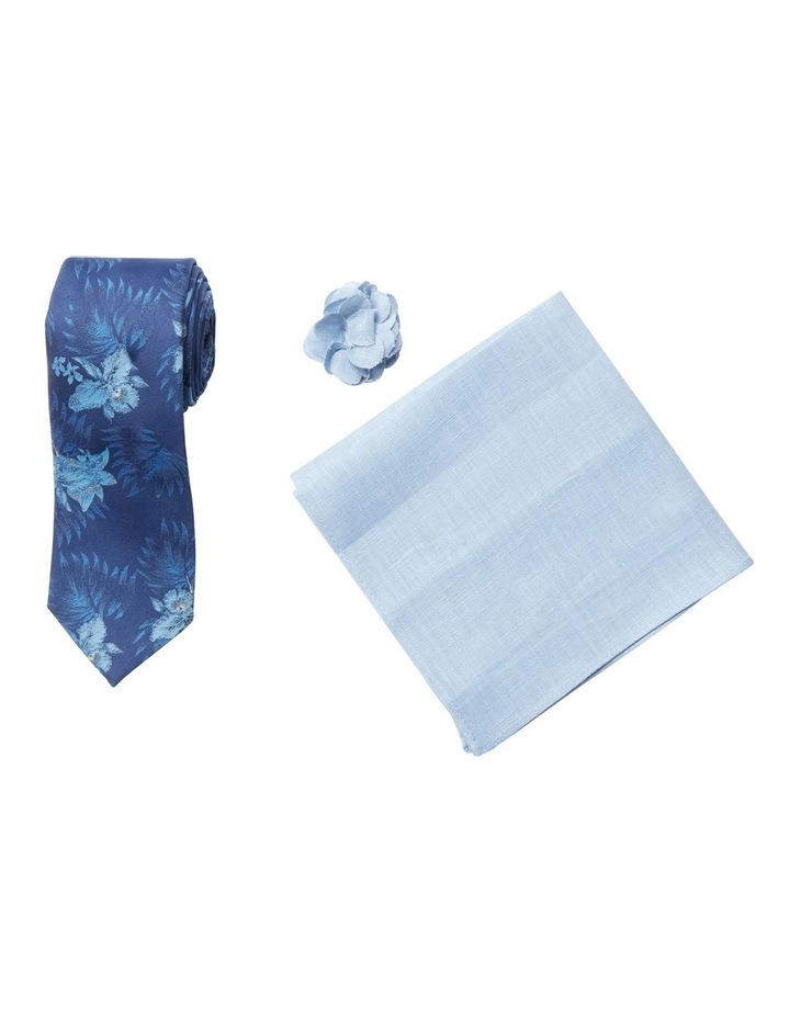 Floral Tie, Pocket Square & Pin Pack image 1