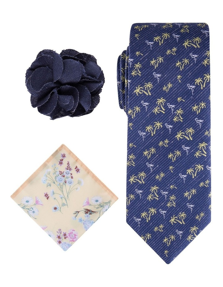 Palm Tie, Pocket Square & Pin Pack image 1