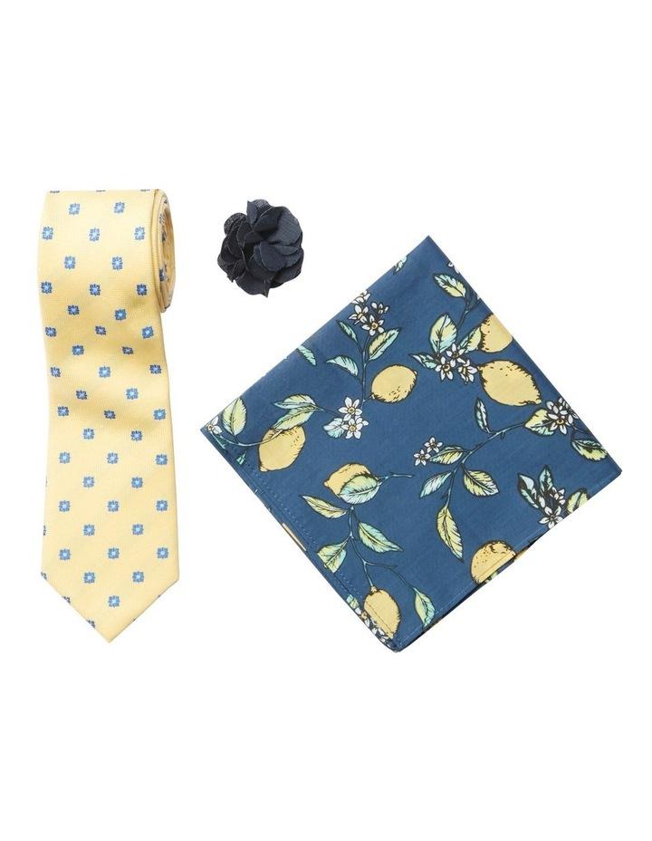 Pattern Tie, Pocket Square & Pin Pack image 1