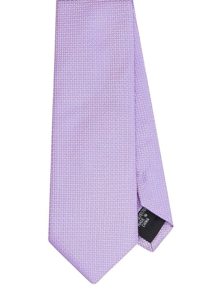 Textured Poly Tie Pink image 1