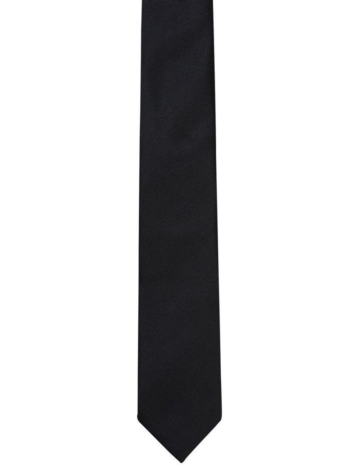 Plain Tie Black image 1