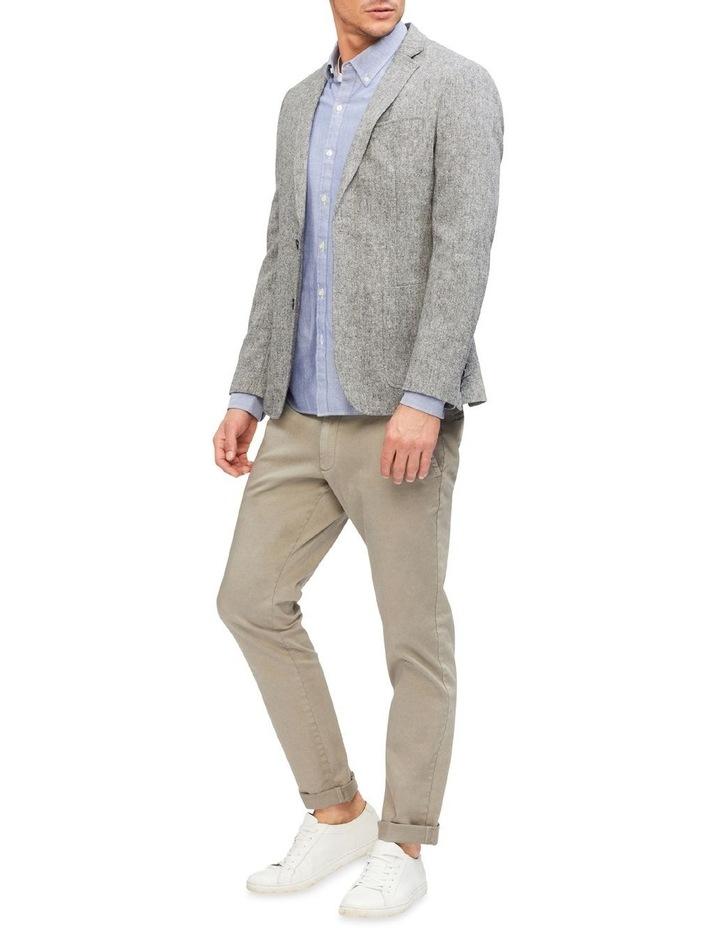 Grey Slub Blazer image 2