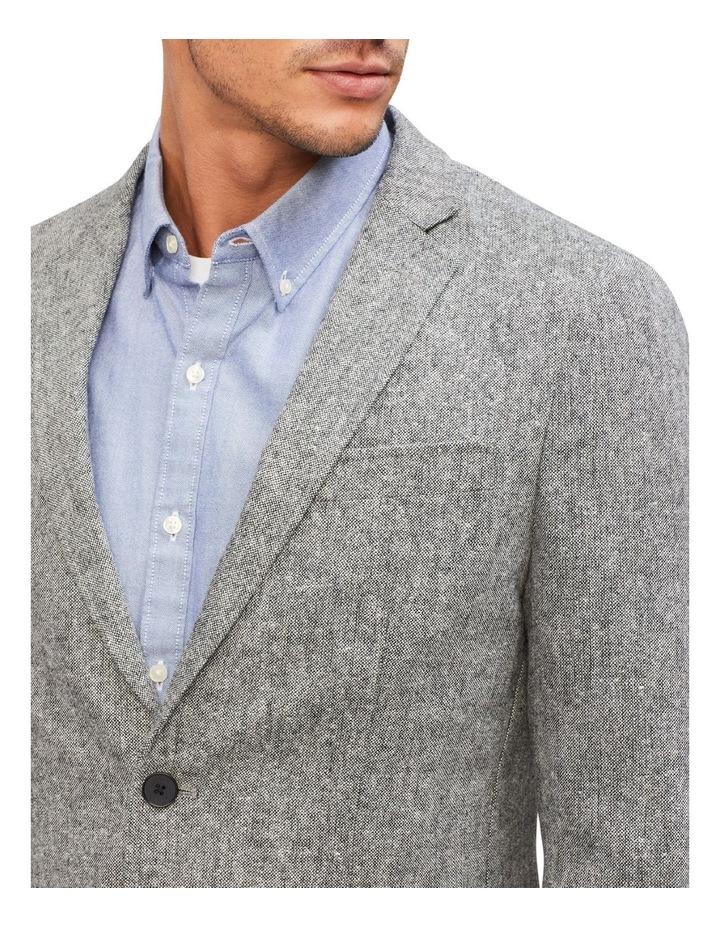 Grey Slub Blazer image 3