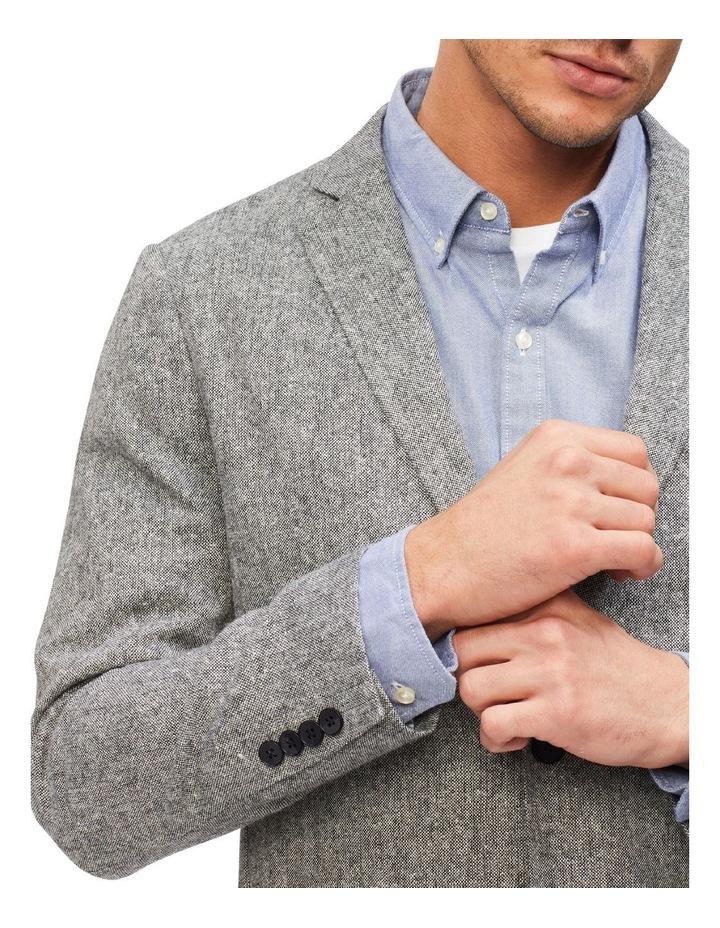 Grey Slub Blazer image 4
