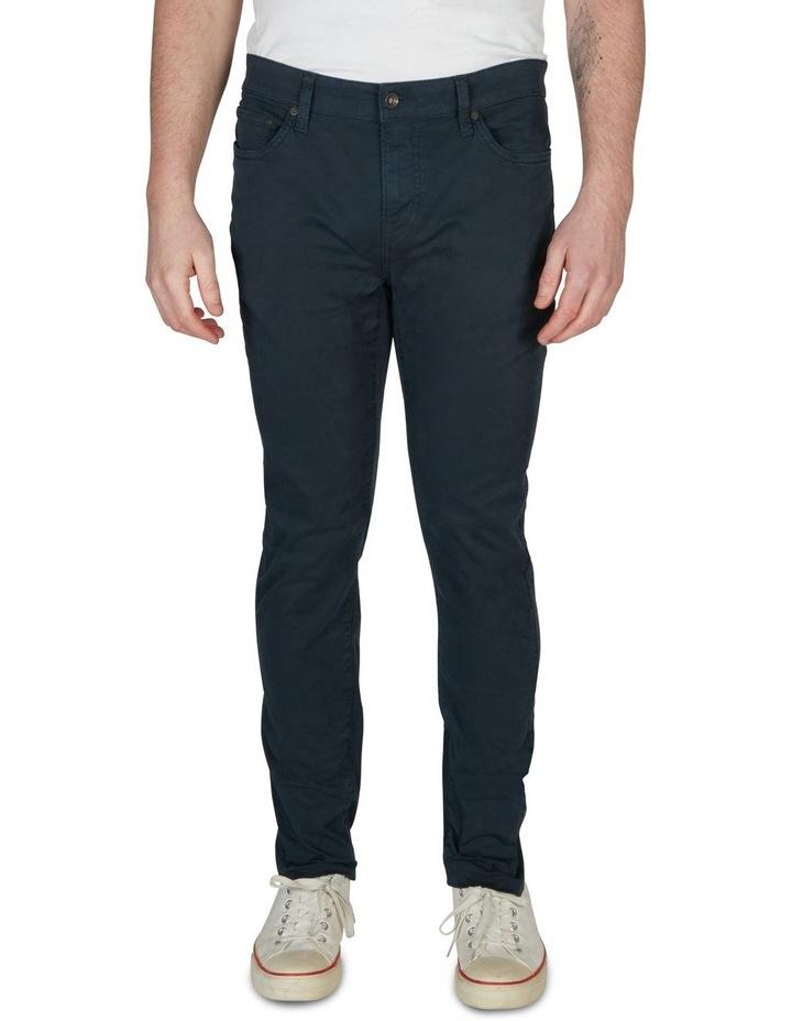 Stetch 5 Pocket Pant Navy image 1