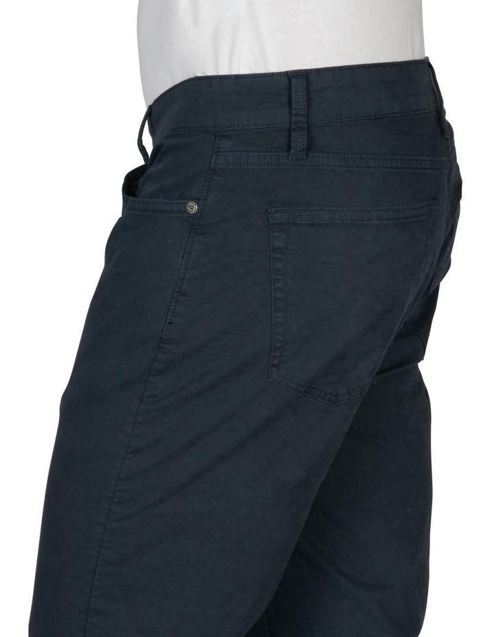 Stetch 5 Pocket Pant Navy image 3