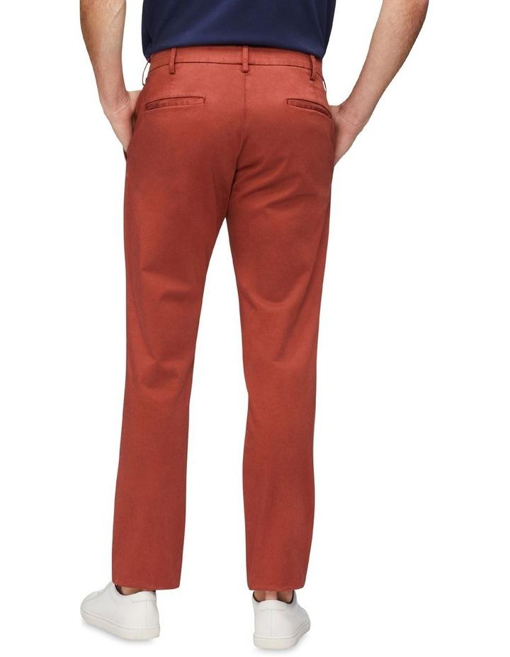 Regular Sateen Chino Pant Rust image 2