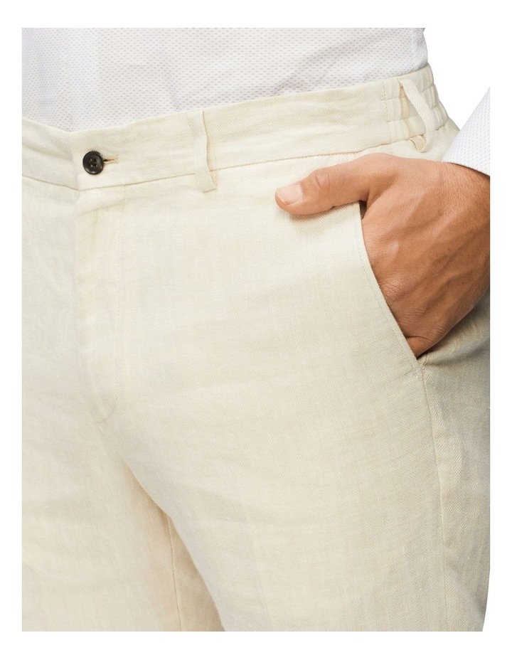 Linen Herringbone Pant image 4