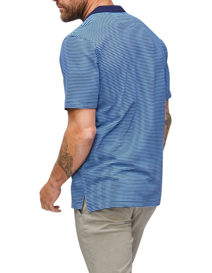 Contrasting Collar Stripe Polo image 2