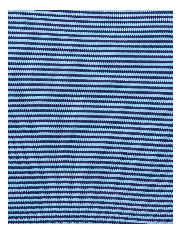 Contrasting Collar Stripe Polo image 3