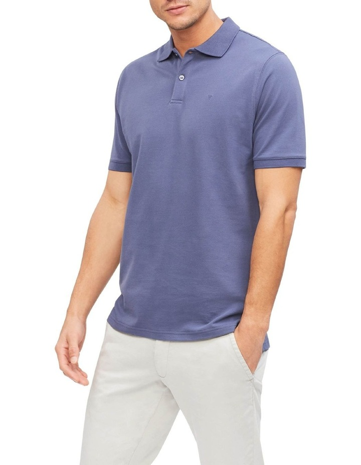 Pique Cotton Essential Polo image 1