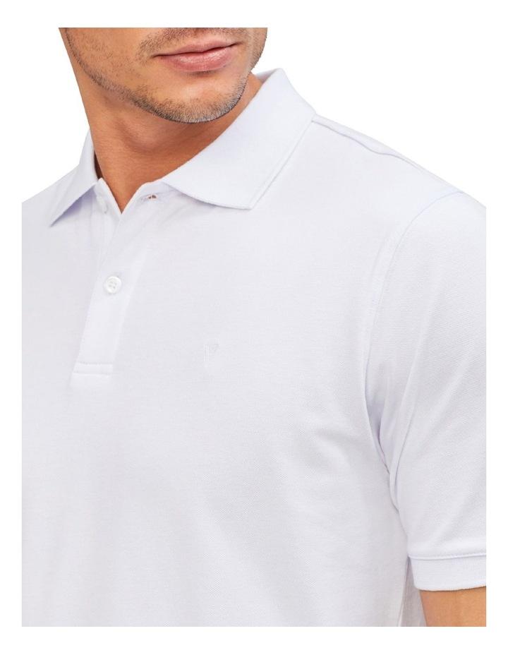 Pique Cotton Polo Top image 2