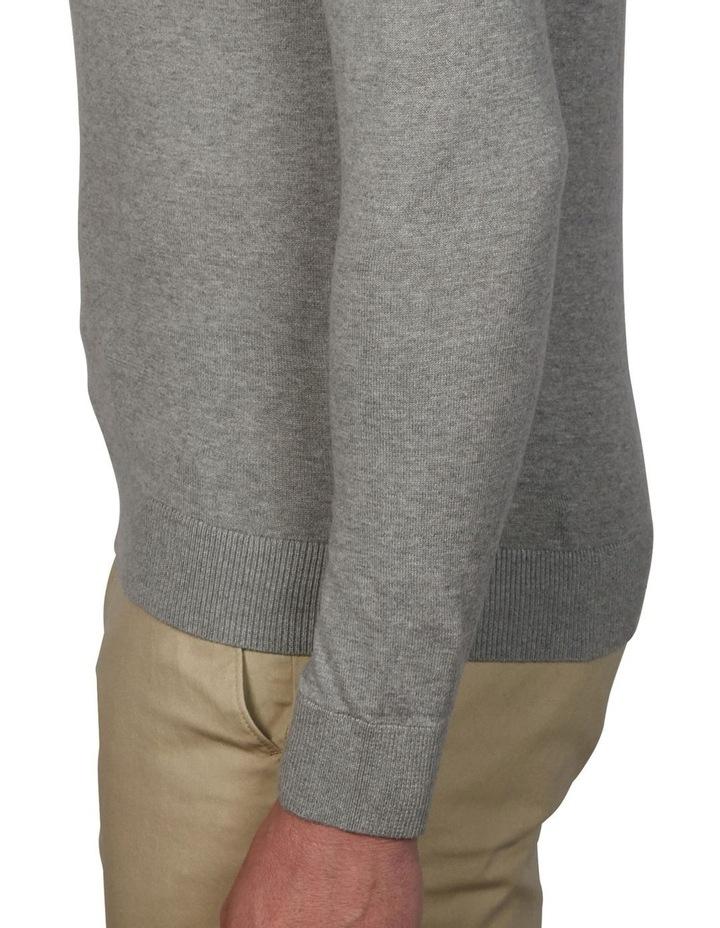 Plain Long Sleeve Knit Polo image 4