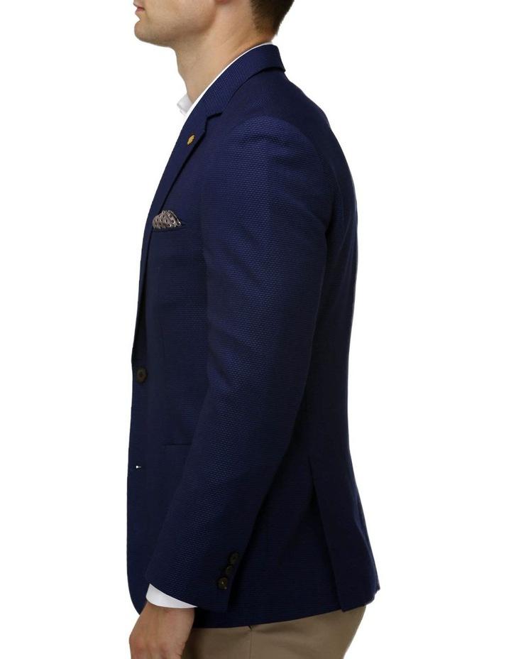 Modern Textured Plain Blazer image 2