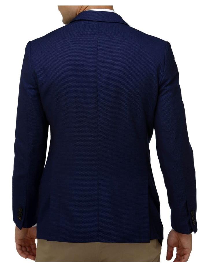 Modern Textured Plain Blazer image 3