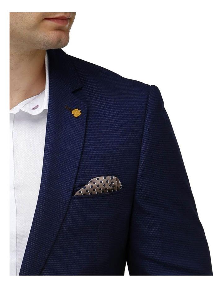 Modern Textured Plain Blazer image 4