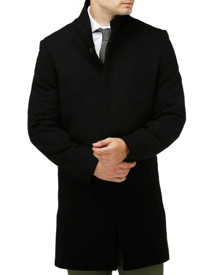 Sleek Long-line Overcoat image 1