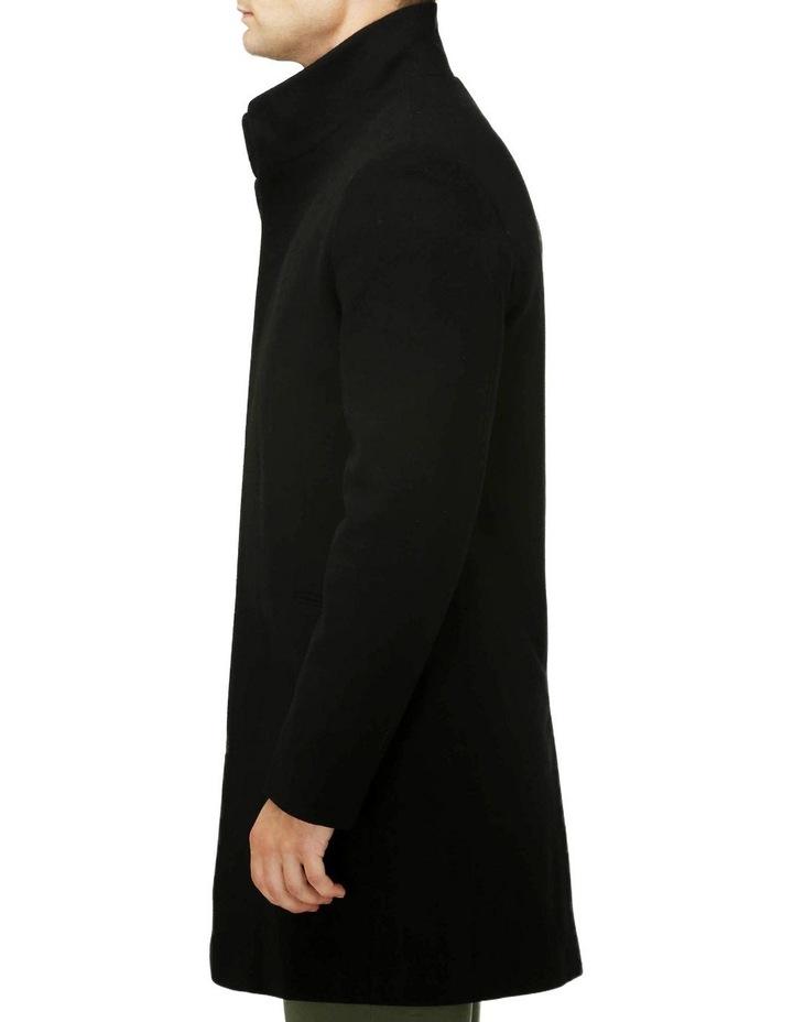 Sleek Long-line Overcoat image 2