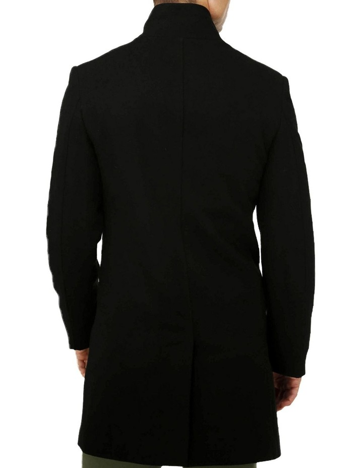 Sleek Long-line Overcoat image 3