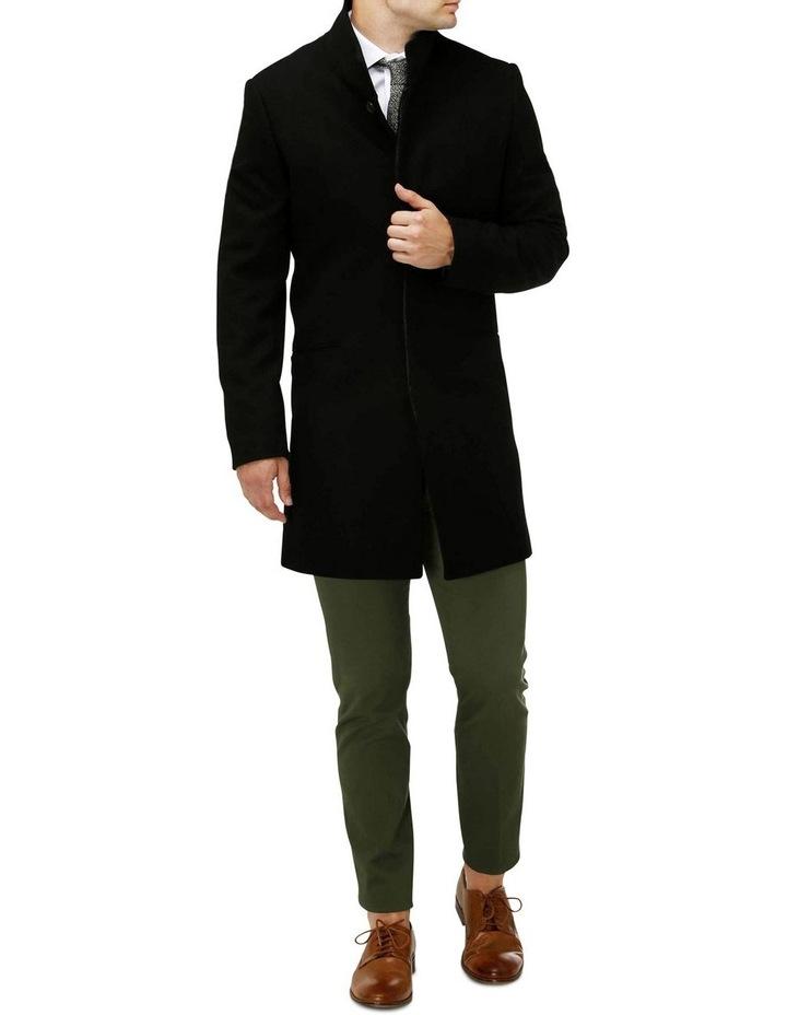 Sleek Long-line Overcoat image 4