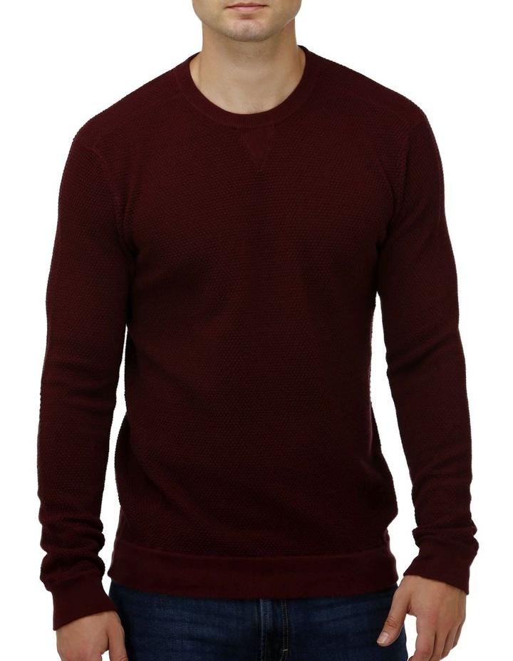 'V' Panel Crew Neck Sweater image 1