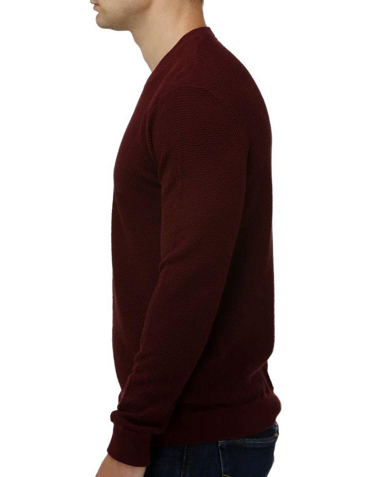 'V' Panel Crew Neck Sweater image 2