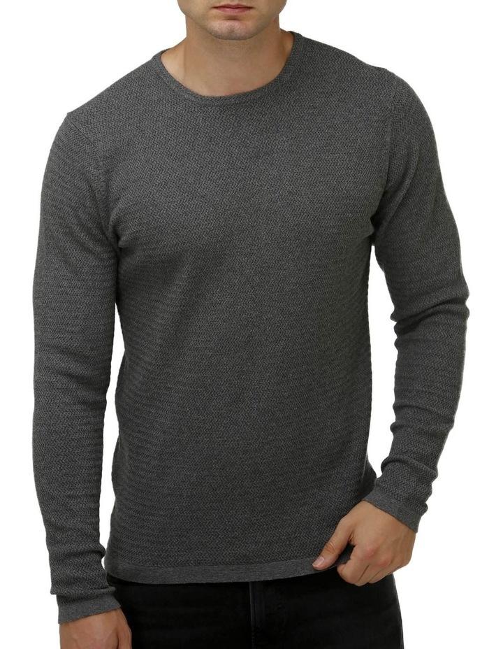 Textured Core Crew Neck Sweater image 1