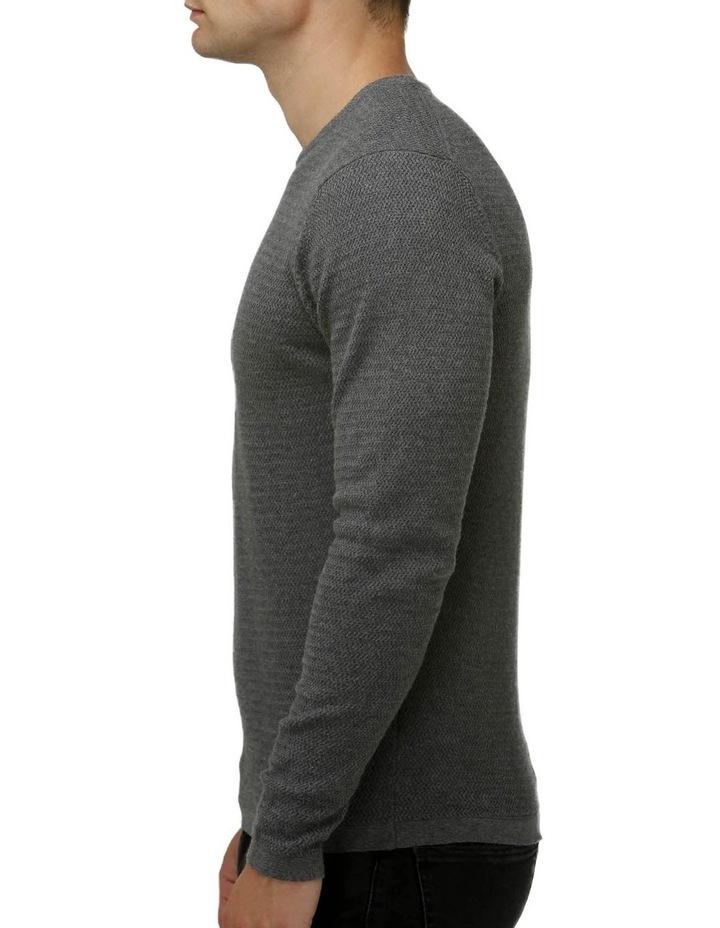 Textured Core Crew Neck Sweater image 2