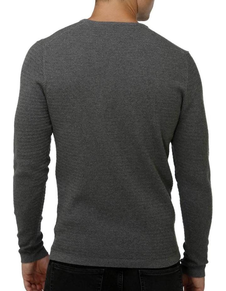 Textured Core Crew Neck Sweater image 3