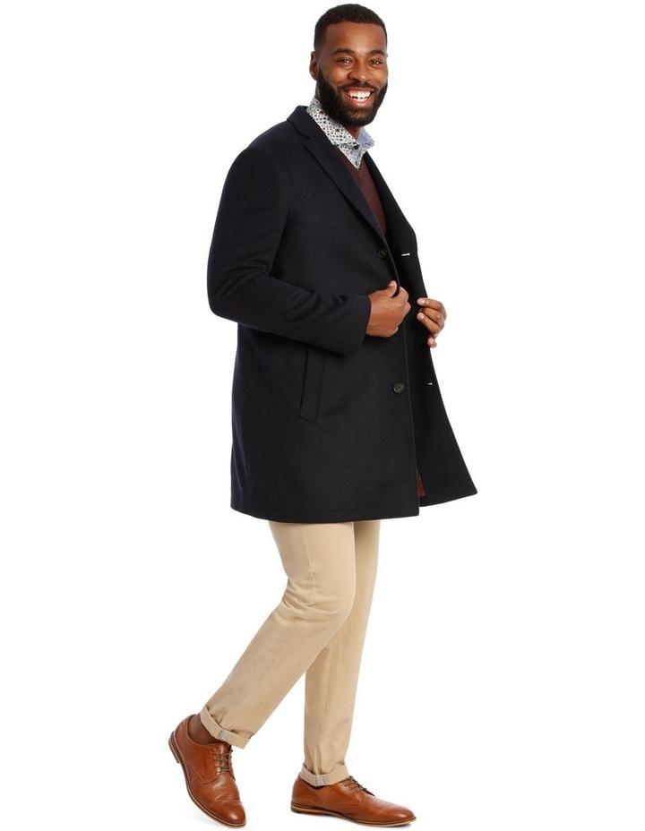 Plain Mottle Mini-Check Coat image 2