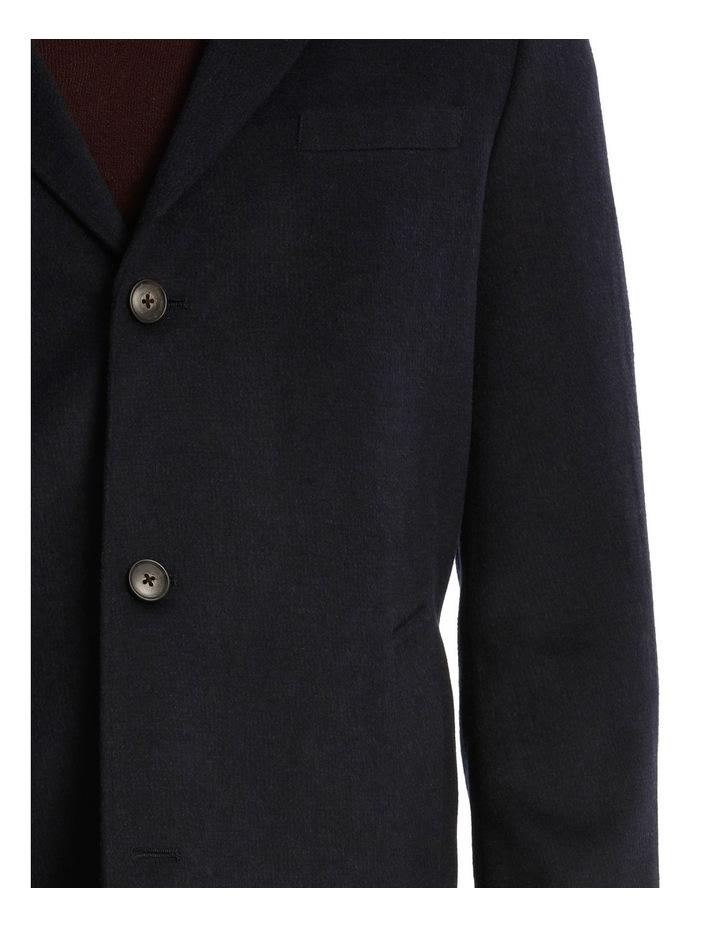 Plain Mottle Mini-Check Coat image 4