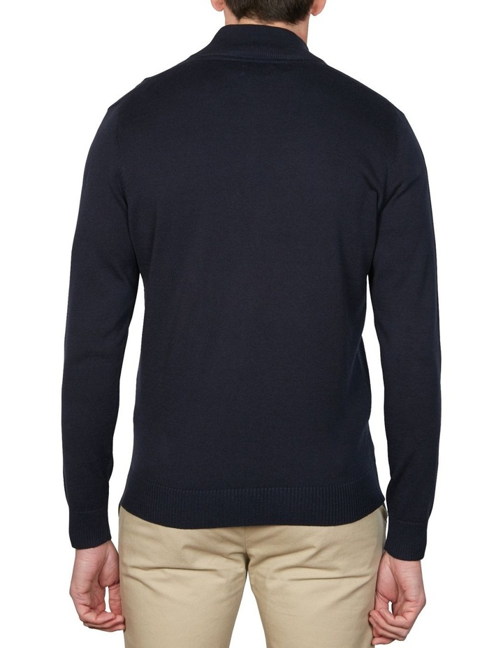 1/4 Zip Textured Knitwear image 4