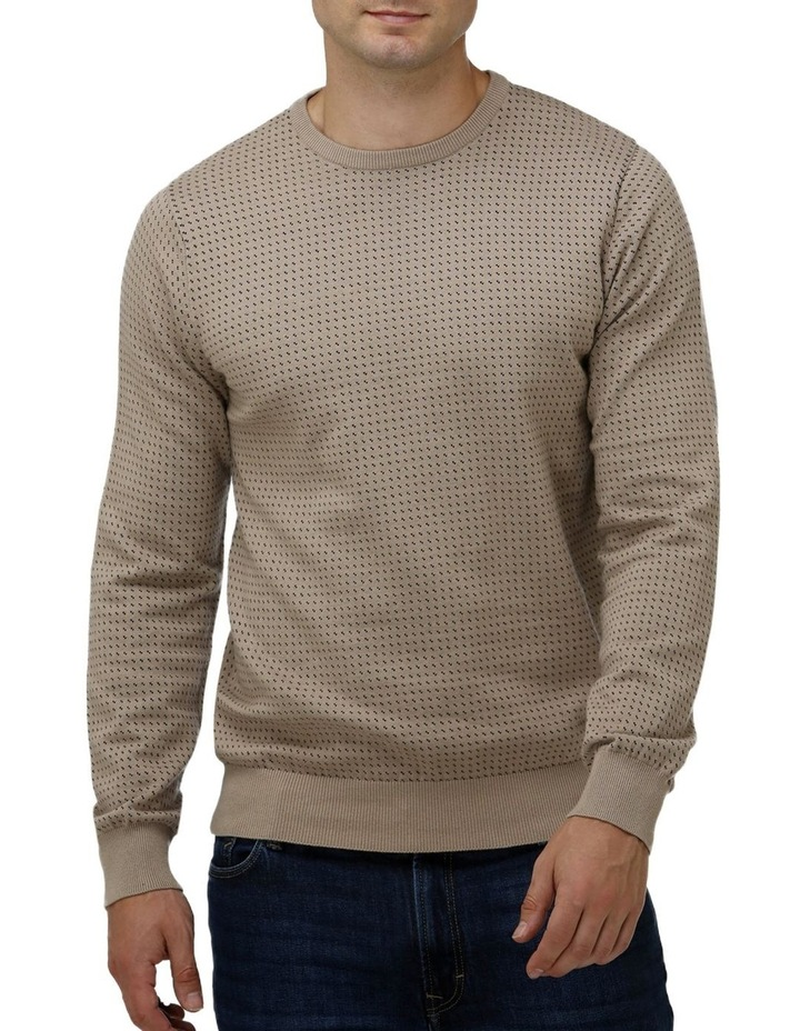 Birdseye Crew Neck Sweater image 1