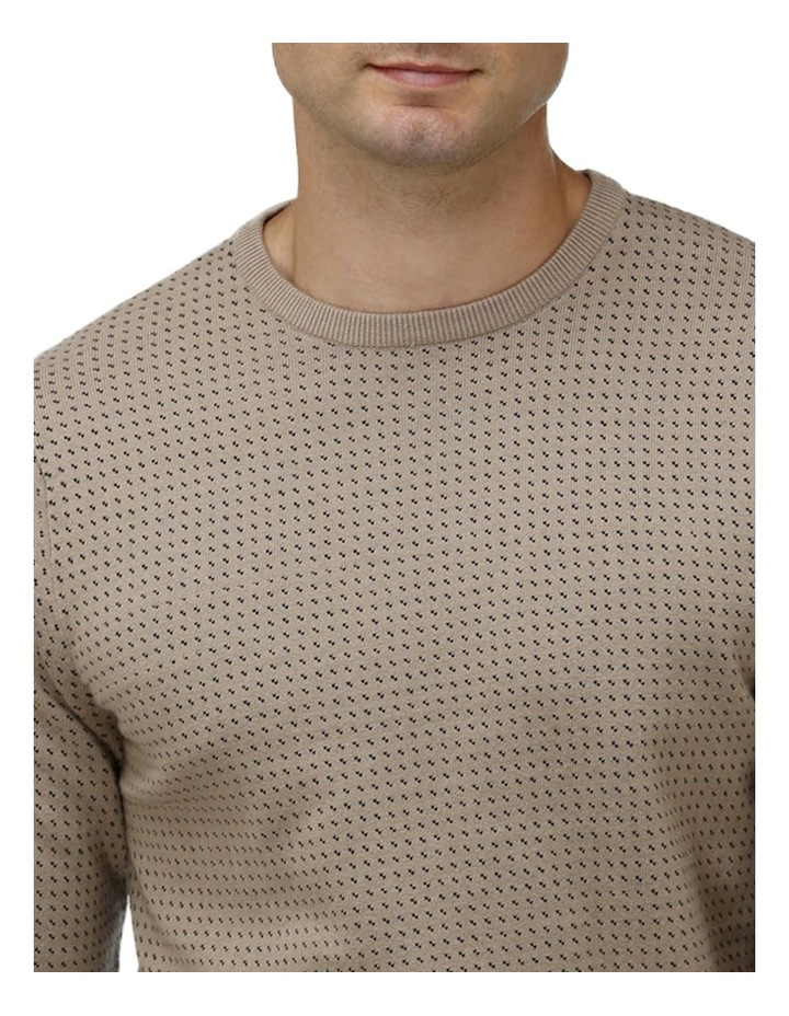 Birdseye Crew Neck Sweater image 2