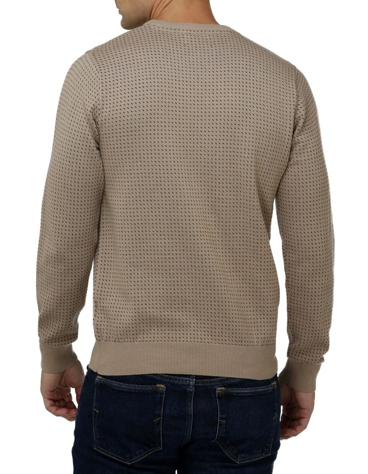Birdseye Crew Neck Sweater image 3