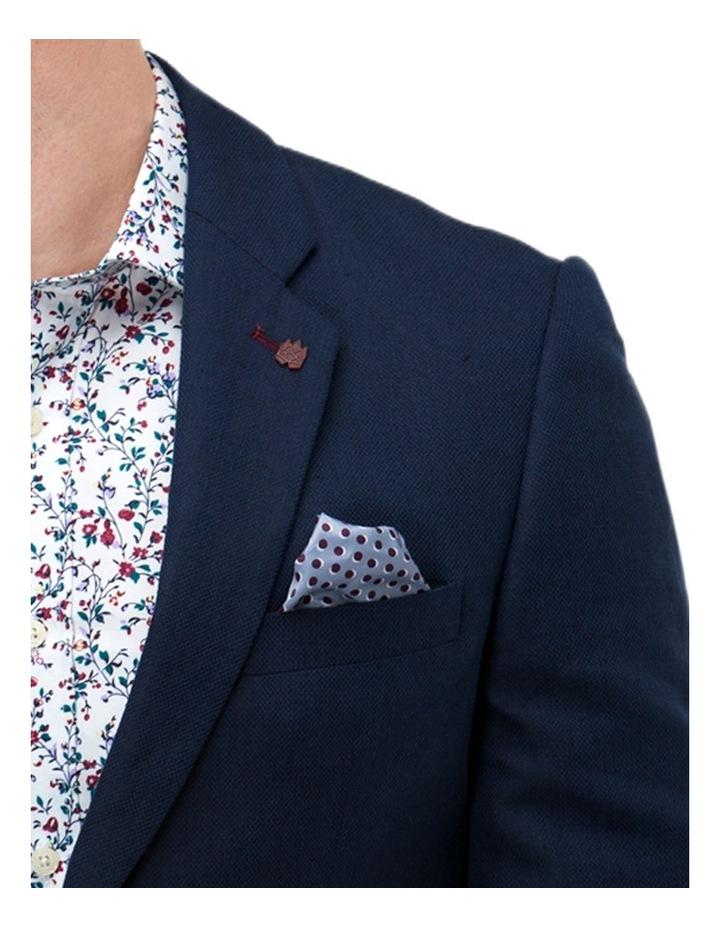 Linen Blend Textured Blazer image 4