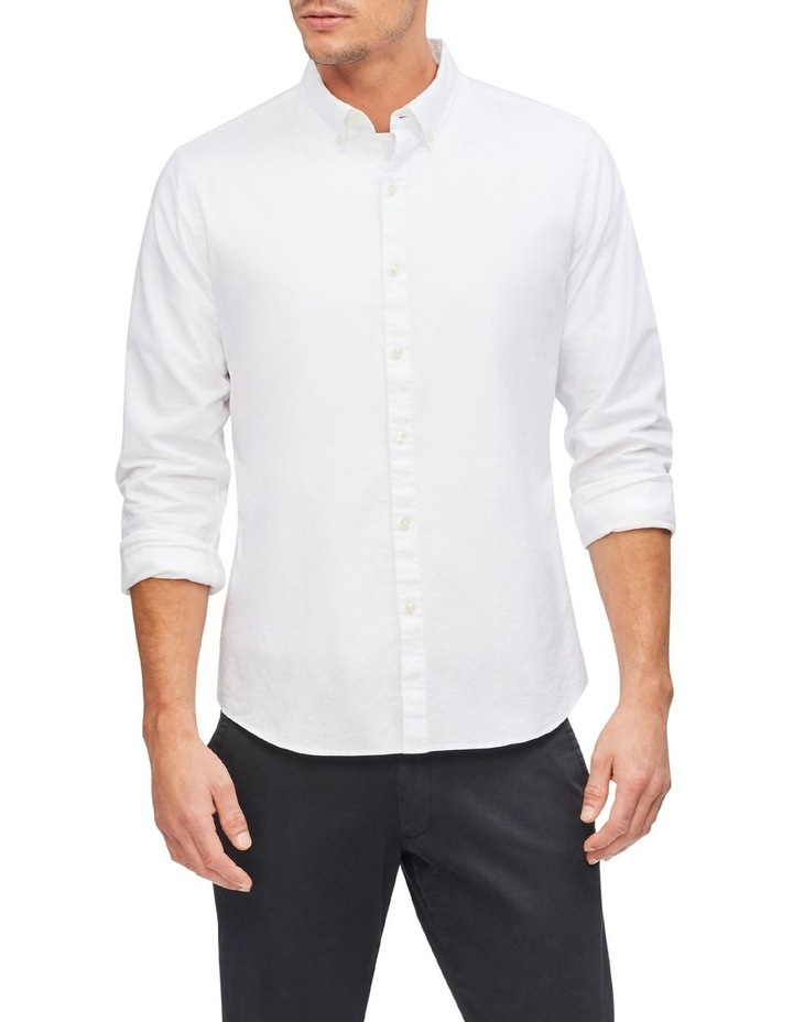 Oxford Plain Casual Shirt image 1