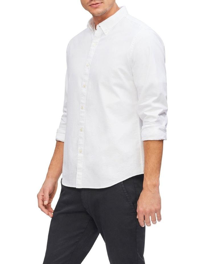 Oxford Plain Casual Shirt image 3