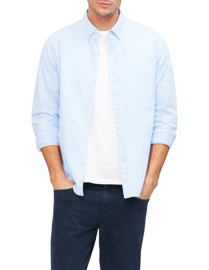 Oxford Plain Casual Shirt image 2