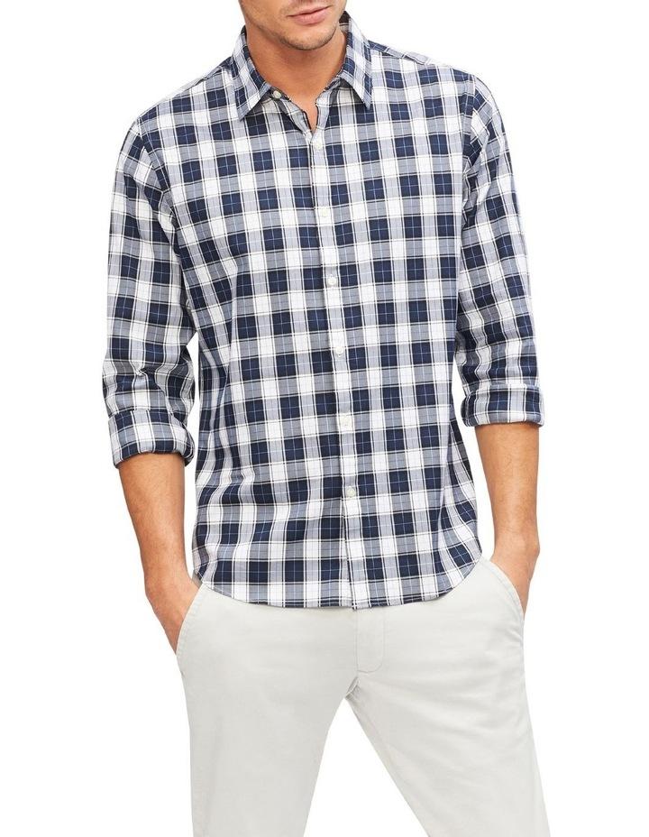 Herringbone Check Casual Shirt image 1